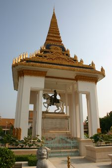 Royal Palace, Phnom Penh, Cambodia Stock Photos