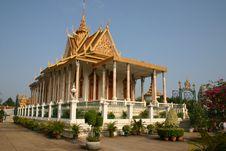 Free Royal Palace, Phnom Penh, Cambodia Royalty Free Stock Photography - 28623247