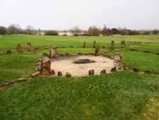Free Stone Henge Milton Keynes Stock Image - 28623591
