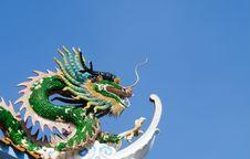 Free Green Dragon Royalty Free Stock Photo - 28624335
