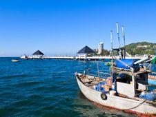 Free Fishing Boat Stock Photo - 28624620