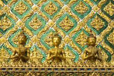 Free Thai Angel Sculpture Stock Photos - 28625353