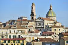 Free Cathedral Of Vietri Sul Mare Stock Photo - 28628650