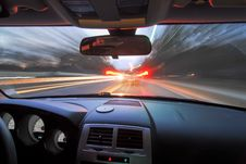 Free Traveling At Speed Of Light Royalty Free Stock Images - 28629369