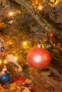 Free Christmas Tree Ornaments Stock Image - 28630371