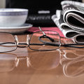 Free Pile Of Newspaper & Glasses Royalty Free Stock Image - 28636566