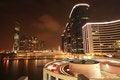 Free Hong Kong Skyline At Night Royalty Free Stock Photography - 28637277