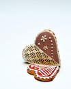 Free Gingerbread Hearts Stock Images - 28637444