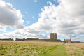 Free Scarborough Castle And Clouds Stock Photography - 28637762