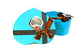 Free Blue Heart-shaped Box Stock Photography - 28638422
