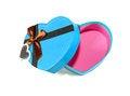 Free Blue Heart-shaped Box Royalty Free Stock Photos - 28638568