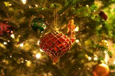 Free Christmas Tree Ornaments Royalty Free Stock Photography - 28630297