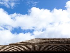 Free Detail Of Roof At Alhambra Stock Images - 28631174