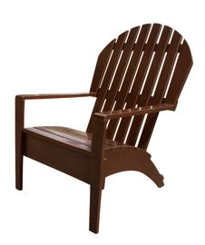 Armchair Wooden Royalty Free Stock Photography
