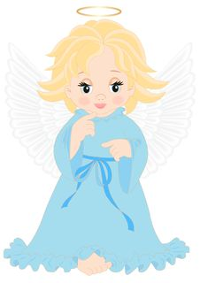 Free Little Angel Stock Images - 28636984