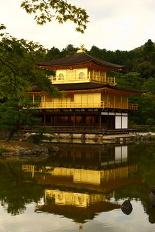 Free Kinkakuji Temple In Kyoto, Japan Royalty Free Stock Photos - 28639258