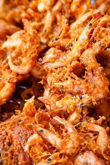 Free Fried Shrimp Royalty Free Stock Image - 28639786