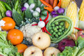 Free Fresh Fruits And Vegetables Stock Images - 28640714