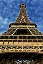 Free Eiffel Tower In Paris On The Winter With The White Clouds Royalty Free Stock Images - 28641809