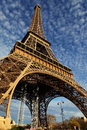 Free Eiffel Tower In Paris On The Winter With The White Clouds Royalty Free Stock Image - 28641986