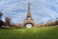 Free Eiffel Tower In Paris On The Winter With The White Clouds Royalty Free Stock Photos - 28642298
