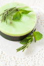 Free Green Handmade Soap Stock Photos - 28644343