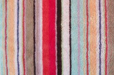 Free Colorful Towel A Background Royalty Free Stock Photography - 28641007