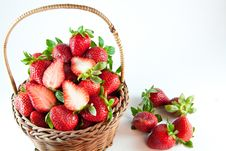 Free Fresh Strawberries Royalty Free Stock Photo - 28642195