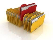 Free 3D Folders Stock Images - 28642484