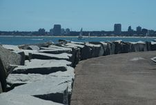 Free Breakwater Stock Photography - 28645132