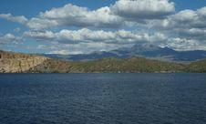 Free Saguaro Lake 5 Royalty Free Stock Images - 28646349