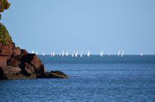 Free Sailing Boats Royalty Free Stock Photo - 28647825