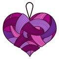 Free Purple Heart Stock Photo - 28655260