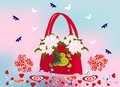 Free Spring - Valentine&x27;s Handbag Royalty Free Stock Images - 28658509