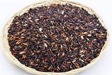 Black Purple Rice Royalty Free Stock Images