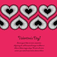 Free Card_Valentines Day Stock Image - 28655231