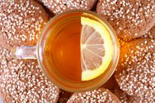 Free Cup Of Tea With Lemon Stock Photos - 28656083
