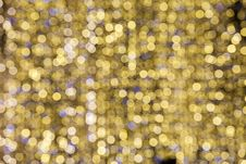 Free Lights Unfocused. Decorations For Holidays Royalty Free Stock Photo - 28657875