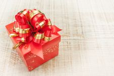 Free Rich Beautiful Gift. Stock Photography - 28659222