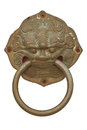 Free Old Chinese Door Knocker Royalty Free Stock Photos - 28663798