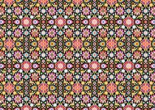 Free Carpet Of Flower On Black Royalty Free Stock Photos - 28662078