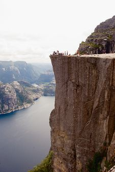 Free Preikestolen, Norge Royalty Free Stock Photos - 28663068