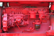 Free Tractor Engine Royalty Free Stock Photos - 28663788