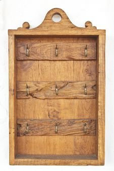 Free Empty Key Cabinet Stock Photography - 28663882