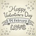 Free Valentines Day Type Text Royalty Free Stock Photos - 28677858