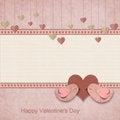 Free Happy Valentines Day. Retro Background Stock Image - 28678181