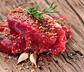 Free Beef Steak. Stock Image - 28678551
