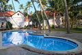 Free Tropical Resort With Swimming Pool Stock Photography - 28679202