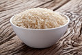 Free Uncooked Rice In A Bowl Stock Photography - 28679302