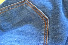 Free The Surface Of A Pair Of Jeans Royalty Free Stock Image - 28671336